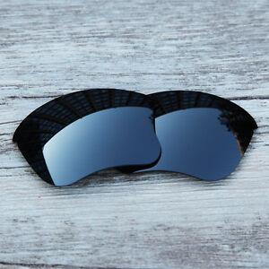 Inew-Black-Iridium-polarized-Replacement-Lenses-for-Oakley-Flak-Jacket-XLJ