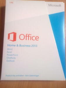 Microsoft Office Home and Business 2013 / Vollversion / PKC / Top - Deutschland - Microsoft Office Home and Business 2013 / Vollversion / PKC / Top - Deutschland