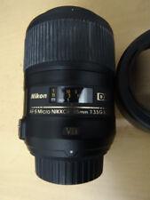 Nikon Micro-Nikkor 85 mm F/3.5 AF-S VR DX G ED SWM IF 52mm 1:1  HÄNDLER 11160