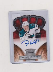 2010-11-TOMMY-WINGELS-CROWN-ROYALE-ROOKIE-ROYALTY-AUTO-NO-280