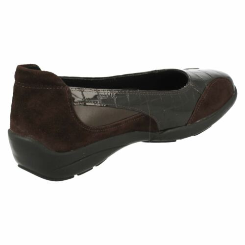 ' Chaussures Ripon Db Cuir B Décontractées Daim Chocolaterie Easy 'femmes Par qgtnP