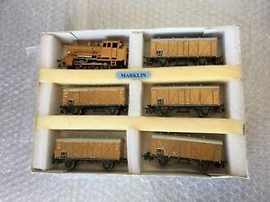 Locomotive à vapeur Vintage # Marklin Train Treno Gold Series