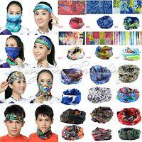 Multi Use Scarf Headband Mask Snood Bandana Cap Neck Warm Cycling Bicycle Sports