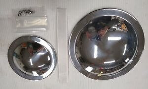 "Polished 3/"" Quarter Grill Pulley Cover for Ultima Softail Dyna Open Belt Drives"