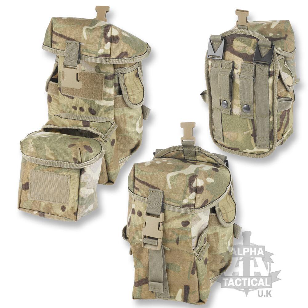 MTP   MULTICAM PLCE TRAUMA POUCH WEBBING BRITISH ARMY MEDICAL MEDIC
