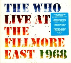 The-Who-2CD-Album-Live-At-The-Fillmore-East-1968-Polydor-6744485-UK-201-New