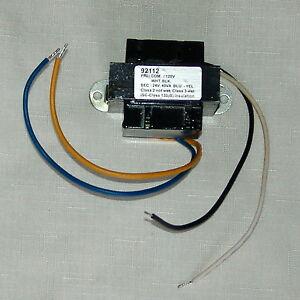 s l300 20) 24 volt control circuit transformers 40va class2 24vac output