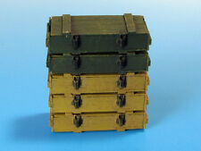 AMMO SCATOLE PER 7,5cm KwK40/StuK40 STUG III,StuG IV,PZKPFW IV#E03 1/35 EUREKA