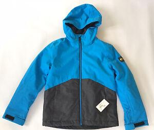 $139 Quiksilver  Boys Sierra 10K Snowboard Jacket Winter Youth Size L/12