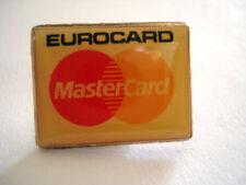 PINS EUROCARD MASTERCARD BANQUE CARTE BLEUE