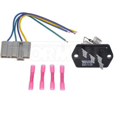 HVAC Blower Motor Resistor Kit Dorman 973-5091,506552C1 Fits 90-17 International