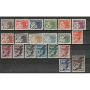 1925-30-Autriche-Osterreich-Courrier-Aerea-Pilote-et-Oiseau-20-Infos-MNH-MF73351
