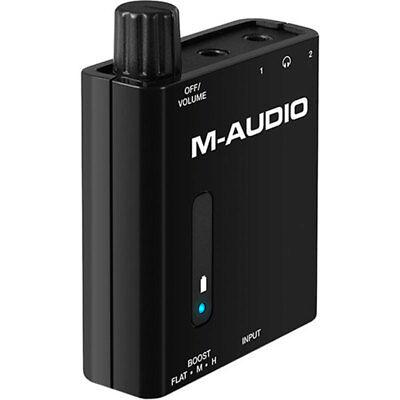 Zuinig M-audio Bass Traveler Portable 2-channel Headphone Amplifier Uitstekende (In) Kwaliteit