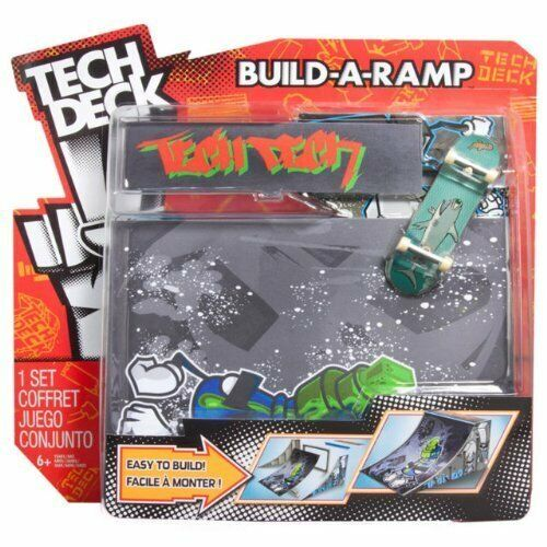 Spinmaster Tech Deck Build A Ramp Playset Quarter Pipe NIP