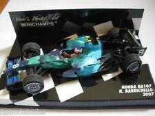 Minichamps 1/43 Honda RA107 Rubens Barrichello *RARE*