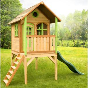 Casetta legno baita giardino axi laura gioco ecologico for Casetta giardino bimbi usata