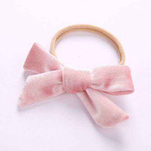 Baby Headband Flower Pink Ribbon Hair Band for Baby Girls Kids HOT SALE Newborn