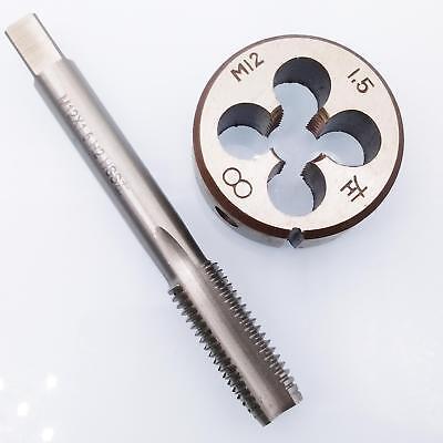 US Stock New HSS 12mm x 1.5 Metric Tap Left Hand Thread M12 x 1.5mm Pitch