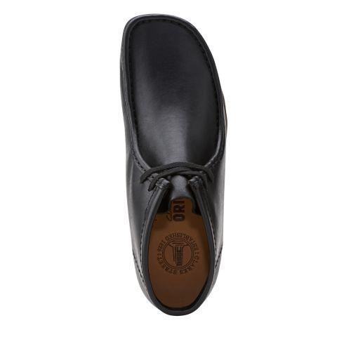 Nuovo da Uomo Esclusivo Clarks D'Inghilterra Nero pelle Originale Originale Originale Wallabee 2e446e