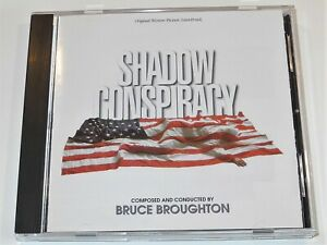Bruce-Broughton-SHADOW-CONSPIRACY-Donald-Sutherland-Soundtrack-CD-Near-Mint