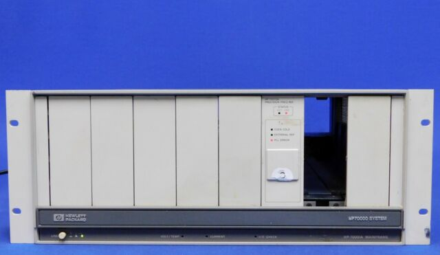 HP Agilent Keysight 70001A 7000 System Mainframe for sale online