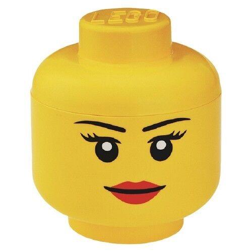 LEGO Small Storage Girl Head