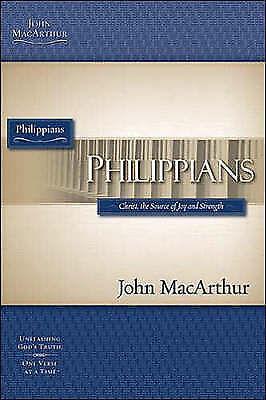 PHILIPPIANS PB (MacArthur Bible Study Guides): MACARTHUR JOHN