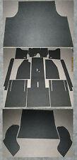 Innenraumteppich-Filz Komplettsatz 14-tlg. passend Vw KÄFER Ovali Bj 53-60
