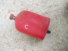 Farmall C Tractor ih engine motor oil filter cannister holder /+ bolt