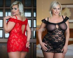 FOR CURVY GIRLS   – Plus Size ✔ Sexy Negligee Dessous Babydoll ✔ XL-XXXL