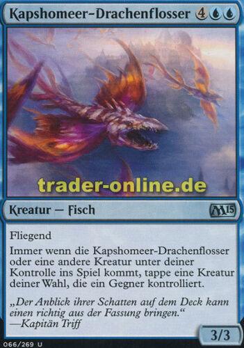 Kapsho Kitefins 2x Kapshomeer-Drachenflosser Magic 2015 M15 Magic