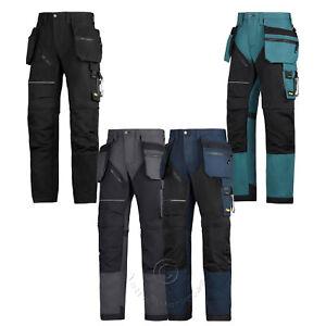 Snickers Ruffwork, Hd Pantalons De Travail Pantalons Avec Genou Pad & étui Poches – 6202-afficher Le Titre D'origine