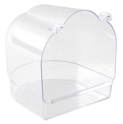 Bird Supplies Bird Bathtub Bath Clean Box Toy For Budgies Canary Cage Trixie 14 × 15 × 15 Cm