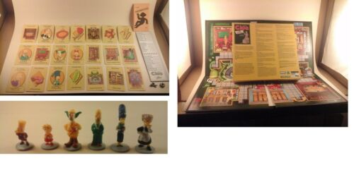 Weapons Details about  /2002 Simpsons Clue Replacement Parts Tokens Game Board Inst. Cards