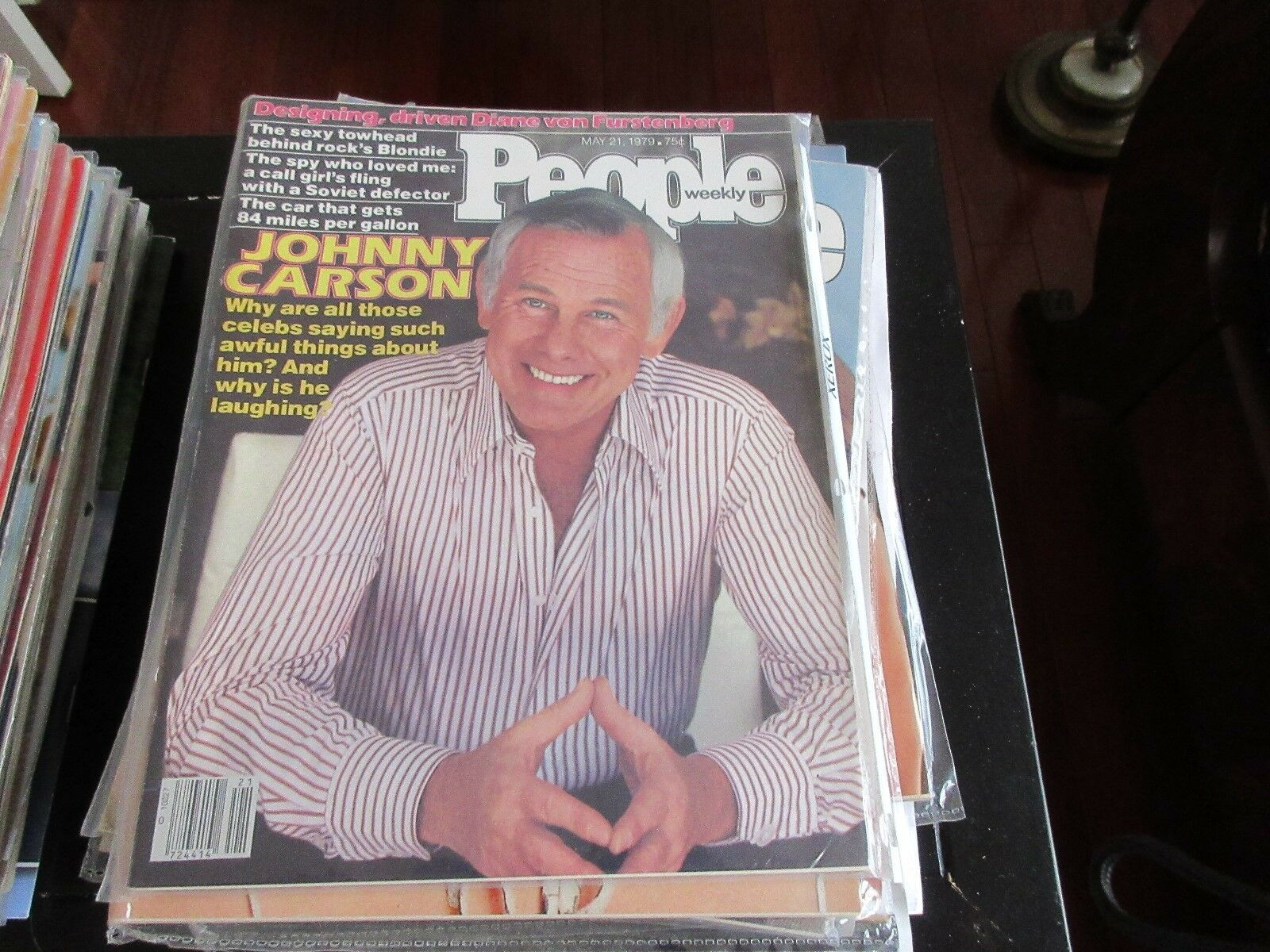 PEOPLE MAGAZINE , 5/21/79 ,JOHNNY CARSON , BLONDIE , Di