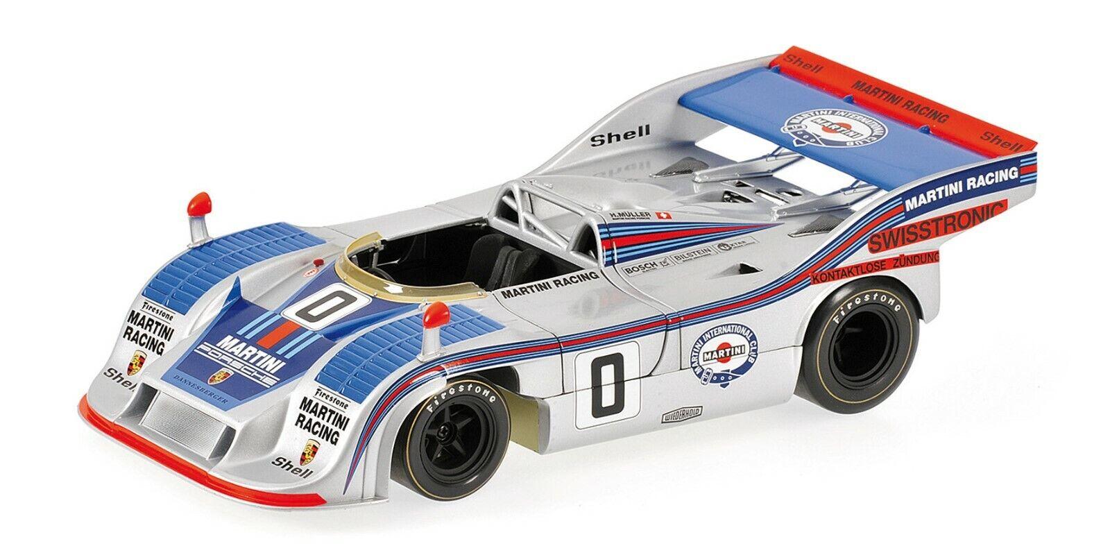 1 18 Minichamps 100746100 1974 PORSCHE 917 20 Martini Champions Interserie Lmtd.