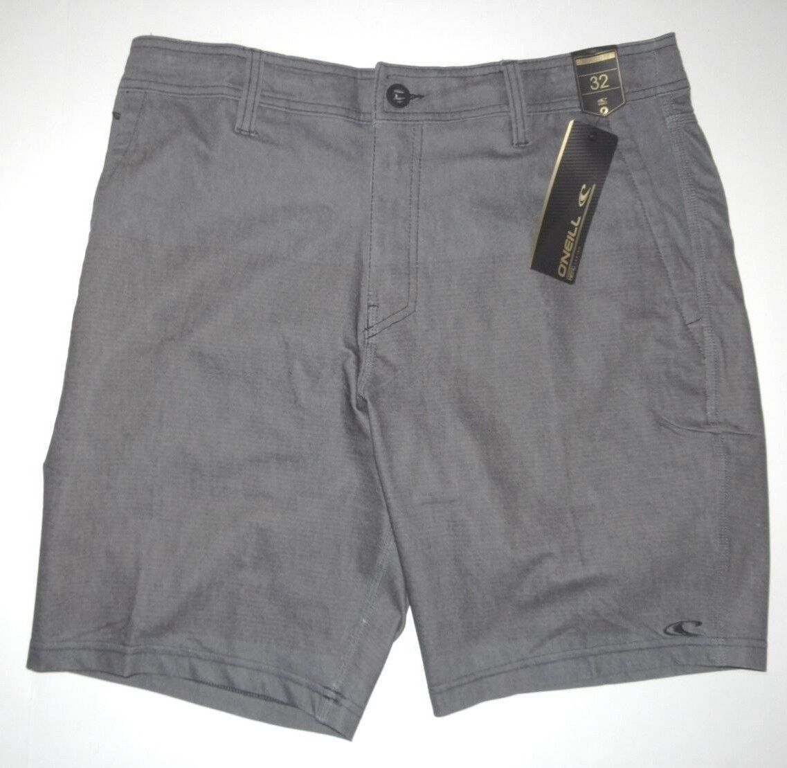 New O'Neill Mens Townes Relaxed Fit Hybrid 19  Walk Swim Shorts Boardshorts 32