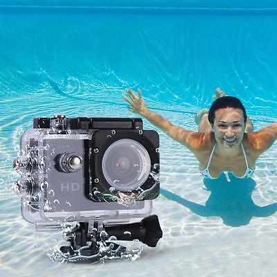 1080P impermeabilizan los 30M se divierte la cámara DV video de acción + batería