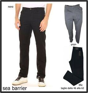 6e8f96a838e443 Caricamento dell'immagine in corso Sea-Barrier-Pantaloni-Uomo-Jeans-Cotone- Estivo-Regular-