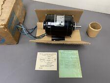 Bodine Electric Motor 140 Hp Rpm 1725 Nci 13 Small Motor Nos