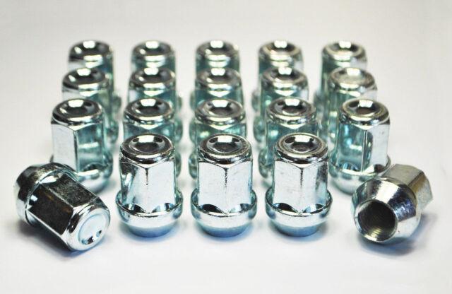 20 x alloy wheel nuts for Subaru Impreza '92-'07 . M12x1.25 19mm