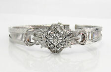 "NYJEWEL 18k Solid Gold Gorgeous Brand New 1.25ct Diamond Bracelet 7.5 """