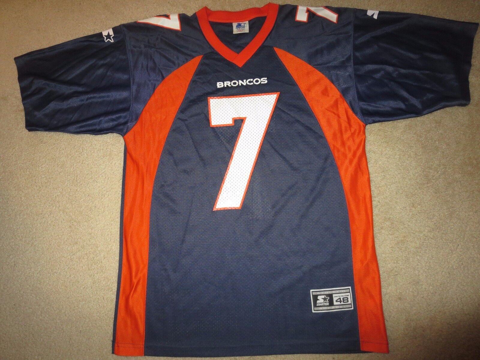 John Elway  7 Denver Broncos NFL Super Bowl Starter Trikot L  | Schnelle Lieferung