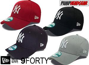 New-Era-9Forty-League-Basic-NY-Yankees-Adjustable-Baseball-Cap