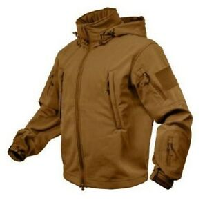 US-SPECIALI-SPEC-OPS-SOFTSHELL-Army-TATTICO-morbido-Shell-GIACCA-Coyote-S