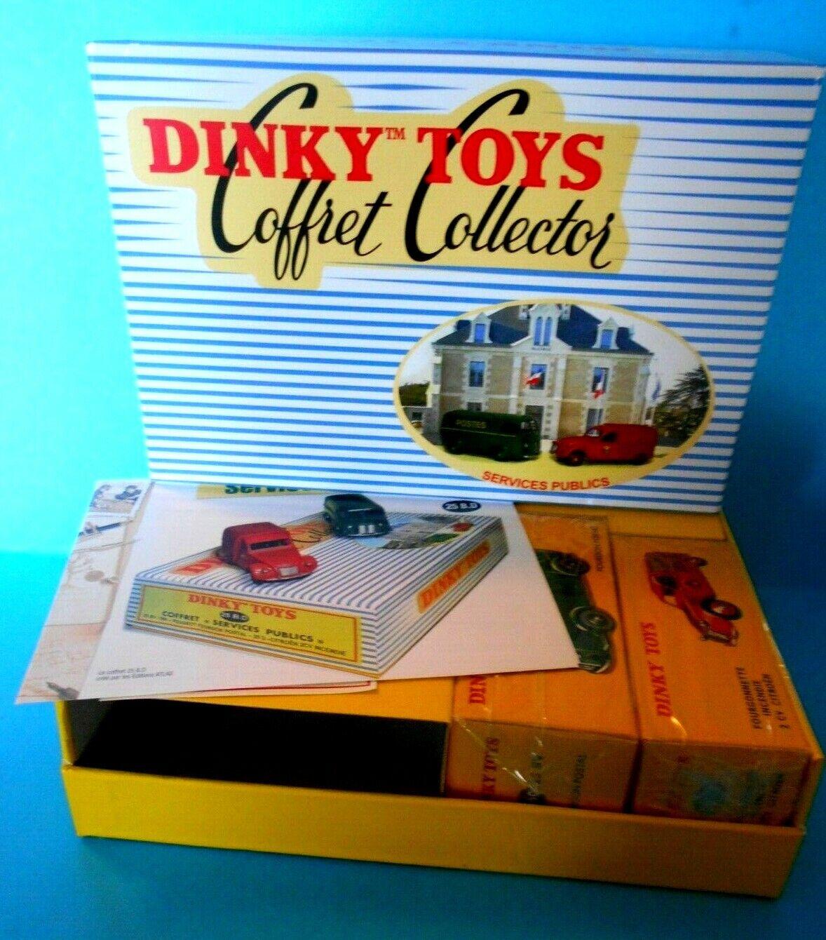 DINKY JUGUETES COFFRET COFFRET COFFRET SERVICE PUBLIC 520 2083520 ATLAS EDICIONES 1 43 [N] 12703e