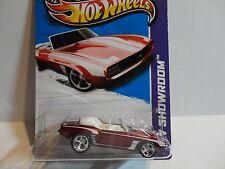 2013 Hot Wheels Super Treasure Hunt #197 Red '69 Camaro w/Real Riders