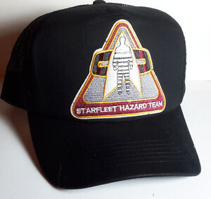Details about Star Trek Starfleet Hazard Team Logo Baseball Trucker Cap Hat  w Patch- FREE S H daf8267f9e0