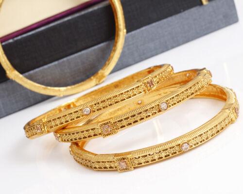 Indian Bollywood Gold Plated Ethnic Wedding 4 Pc Bangle Bracelet Women/'s Jewelry