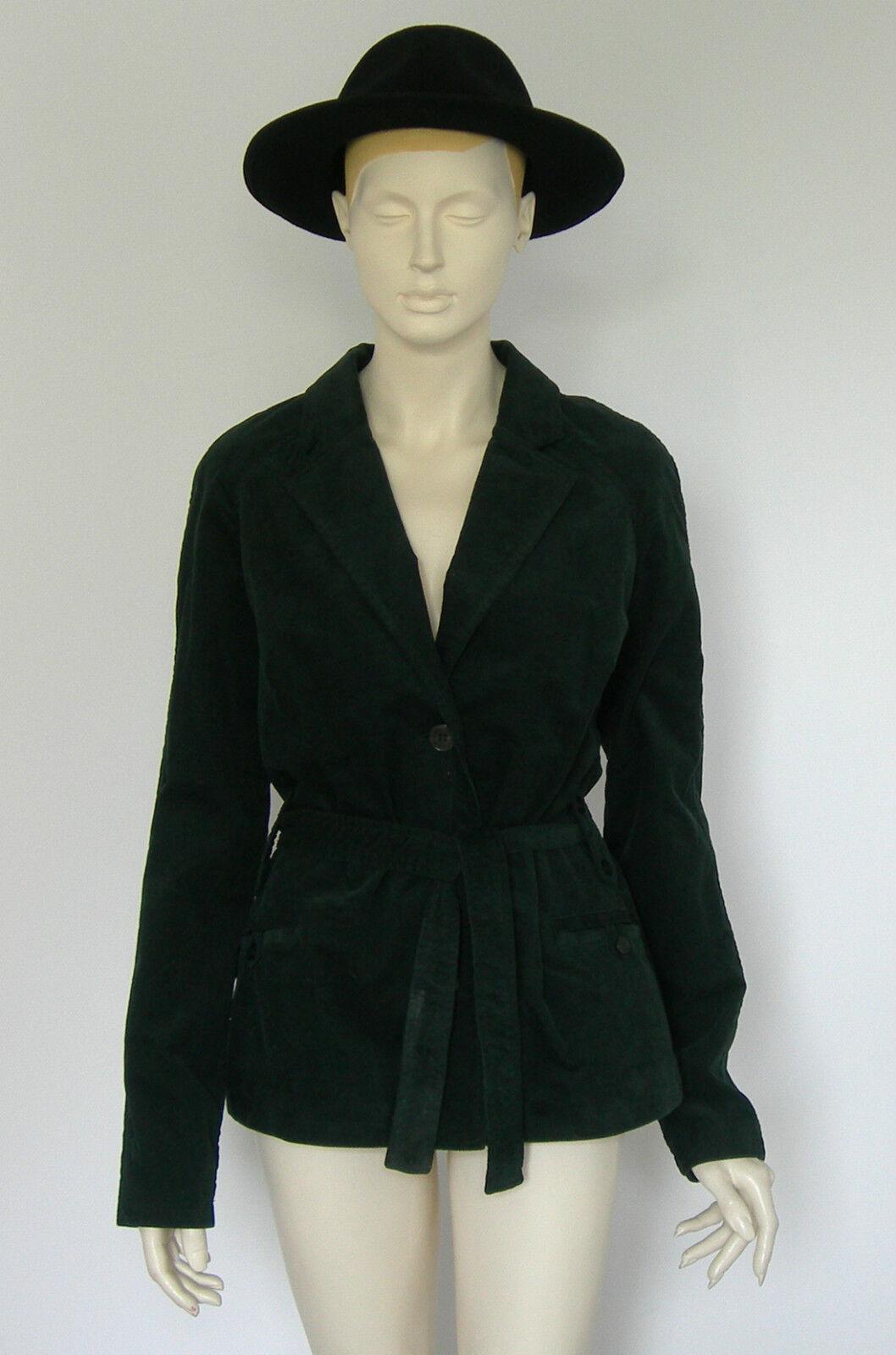 Très jolie Veste blacke Neuve en velours avec ceinture